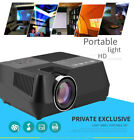"5000LM 4"" LCD Projector 3D Home Theater Cinema Support HDMI/VGA/USB/AV/TF Card"