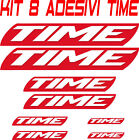 KIT 8 ADESIVI BICI TIME STICKERS BIKE TIME