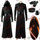 Star Wars The Force Awakens Kylo Ren Ben Solo Black Halloween Cosplay Costume $95.0 USD