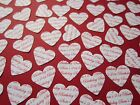 100+ Personalised Hearts Birthday Confetti Table Age Party Do Wedding