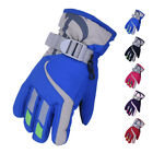 Boy Girl Kids Winter Thermal Ski Snowboard Gloves for Boys Girls Wind/Waterproof