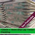 Amazing Timber Shed Cladding Top Quality 125mm x 16mm Tanalise 100mts Minimum Or
