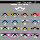 Vented Quad Line Sports Kite Stunt Kites Easy Fly for Adults Kite Wind Fun Play