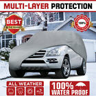 5 layer car cover - Multi-Layer Genuine Waterproof SUV/Van Cover for Auto Car All Weather Medium