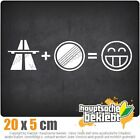 Photo Frames Home Decor Autobahn Freak Csf0232 7 7/8x2in JDM Sticker Decal Engagement Parties At Home Decorations