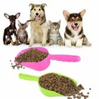 Cute Pet Dog Cat Food Feeder Shovel Scoop Tool Supplies Small Plastic Spoon FA