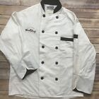 Artex Apparel Chef Coat Double Breasted Button Closure White Work Uniform