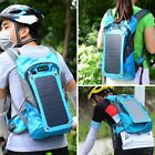 phone with solar panel - Solar Panel Backpack With 2.5L Hydration Bag Tablet Phone Charger For Travel HL