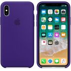 For iPhone X 6 6S 8 Plus 7 Plus ORIGINAL Silicone Back Case Cover -High Quality