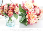 1PC Artificial Silk Fake Rose Flowers Floral Wedding Bouquet Party Home Decor