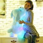luminous dog plush doll colorful LED glowing dogs children toys