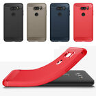 Ultra Thin Brushed Shockproof Rugged Rubber Soft TPU Cover For LG V30 Phone Case