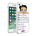 Betty Boop Printed Design Phone Case Skin Cover For Various Models 0012 $7.48 USD