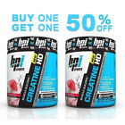 BPI Sports Creatine HD 50 servings - Pick Flavors * BUY ONE GET ONE 50%OFF*