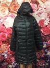 ▪️The North Face Black Hooded Long Quilted Down Jacket Size: Large ▪️