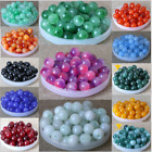 4mm 6mm 8mm 10mm 12mm Natural Gemstone Round Spacer Loose Beads Assorted Stones
