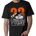 SAN FRANCISCO POSEY PLAYER TEE BLACK - Adult Sizes Brand New