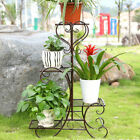 4 Tier Pot Metal Scrollwork Plant Planter Home Display Patio Yarn Garden Outdoor