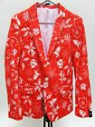 Suslo Couture Holiday Christmas Bells Blazer Sport Coat (Sizes: 38,40)