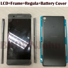 For Sony Xperia XA F3111 F3112 F3113 LCD Display Touch Screen+Frame  Black