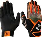 new youth/boys L under armour clean up batting gloves 1291214-915 realtree/camo