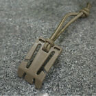 2X Military Elastic Cord Hang Buckle Clip PALS MOLLE Style Webbing Backpack TS