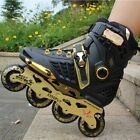 Single-row Roller Skates Professional Adult Inline Skates For Men And Women RE