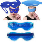 Gel Eye Mask Beads Ice Gel hot cold therapy sleep pack for Puffy Dry Dark Circle