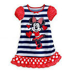 Kids Girls Mickey Minnie Mouse Party Princess Dress Summer Skirt Toddler Clothes