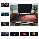 Art Laptop Game Mouse Pad Desk Decal Anti-slip For Computer Keyboard Large Mat