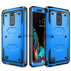 Shockproof Hybrid Dual Layer Armor Protective Case Cover For LG Cell Phones