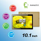 10.1'' Tablet PC Android 6.0 Quad-Core  HD WIFI 16G Dual Cameras Bluetooth A7 US