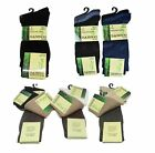 Multipack BAMBOO Socks Mens Pack of 3 6 9 12 Pairs Elastic Gentle Soft Grip 9-11