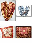 SQUARE SATIN NECK / HEAD SCARFS VARIOUS NEW