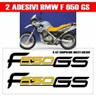 KIT 2 ADESIVI BMW F650 GS carena MOTO STICKERS DECAL ADHESIVES