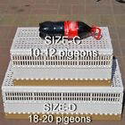 Big Plastic Pigeon Dove Training Transport Basket folding Collapsing cages Nest