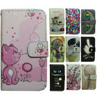 Dog Cat OWL Wolf Tiger Panda Deer Wallet Stand flip case cover for Sony Xperia