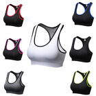 Womens Athletic Yoga Running Sports Bra Fitness Training Tank Top Wireless Vests