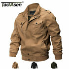 TACVASEN Mens MA 1 Pilot Bomber Jacket Coats Air Force One Military Army Jackets