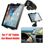 "360° Car Windshield Desk Mount Holder Stand For iPad Air/4/3/2 GPS Tablet 7""-10"""
