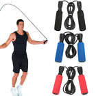 US Workout Jump Rope Bearing Speed Fitness Exercise Boxing Adult Kids Adjustable image