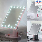 light up makeup - US Touch Screen Makeup Mirror Tabletop Cosmetic Vanity Light Up 22 LED Mirror