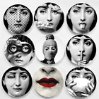 Vintage Fornasetti Plates Decorative Wall Plates Dishes Home Background