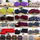 3 seat couch - Fashion Solid color Elastic Sofa Cover Set Couch Stretch Armchair 1 2 3 4 Seat