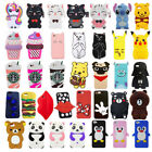 3D Cartoon Cute Soft Silicone Phone Case Cover For iPhone iPod Touch 5 / 6 Gen