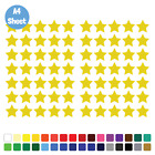 70 (2.5cm) Star Stars Stickers Set Any Colour Laptop Glass Car Wall Art Name Kid