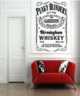 Peaky Blinders Pub Whisky VINTAGE WALL DECAL STICKER RETRO GARAGE BAR Man CAVE