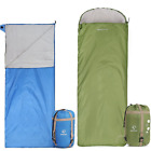 sleeping bag sack - REDCAMP Ultralight Sleeping Bag Adults for Backpacking with Compression Sack