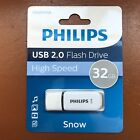 PHILIPS 16 GB and 32 GB SNOW HIGH SPEED USB Flash Drive Memory Stick Pen Drive <br/> 100% GENUINE ✔✔ SPECIAL OFFER ✔✔ Fast Free Delivery ✔✔