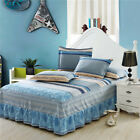 Bed Skirt Single Double Mattress Cover Petticoat Twin Full Queen Bedding Sets